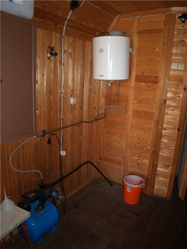 Водопровод в бане своими руками зимой без отопления: трубы для воды, схемы, монтаж системы водоснабжения