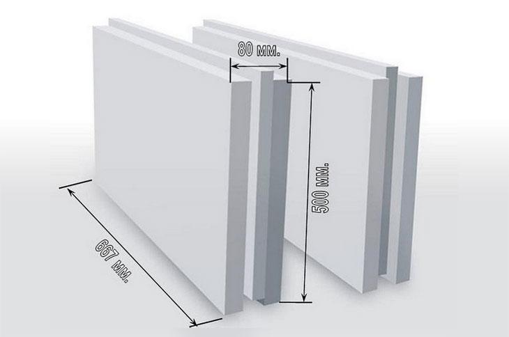 Плиты пазогребневые гипсовые: установка перегородок, размеры