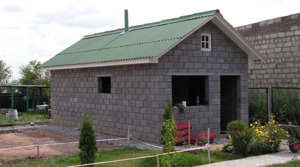 Баня из керамзитных блоков отзывы владельцев