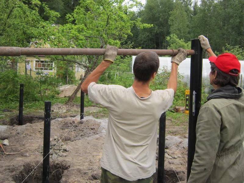 Пошаговая инструкция по установке свайно-винтового фундамента своими руками + технология обвязки свай ростверком