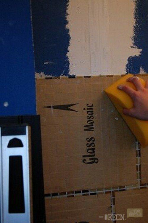 Как класть плитку мозаику на стену - клуб мастеров
