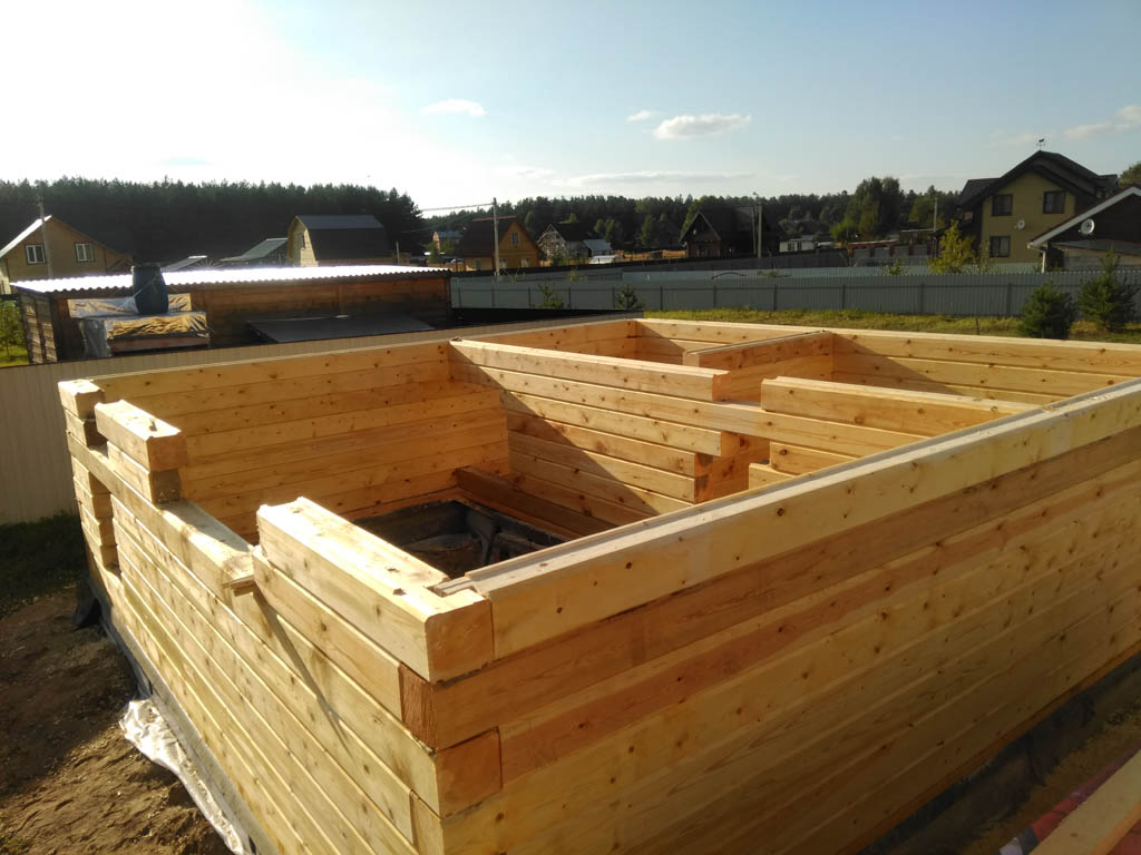 Баня на даче своими руками - пошаговая инструкция!
