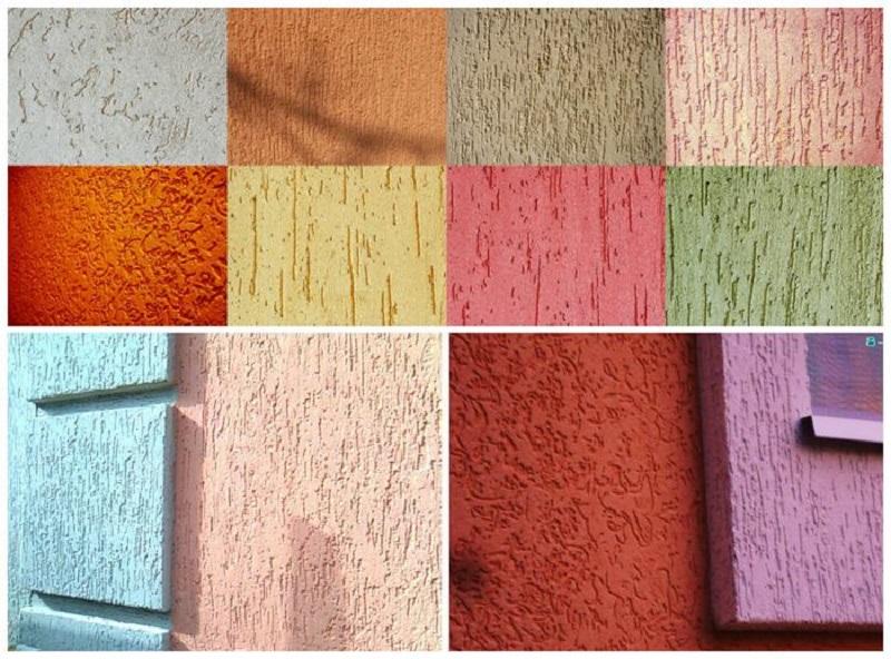 Штукатурка «короед»: фото примеры удачного применения материала – советы по ремонту