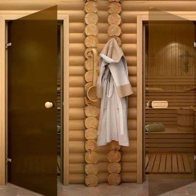 Как выбрать двери для сауны и бани