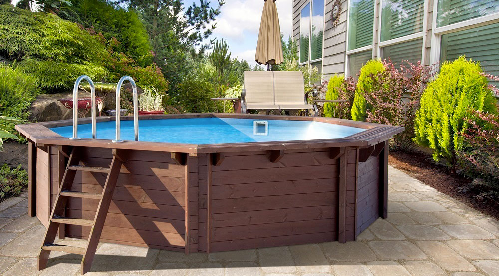 Как сделать деревянный каркасный бассейн своими руками