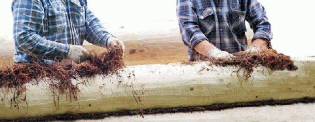 Джут или льноватин: что-же выбрать для деревянного сооружения