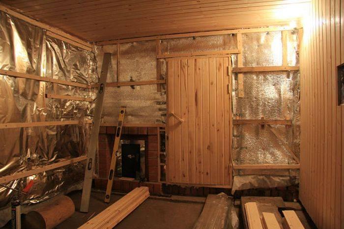 Баня в гараже: примеры проектов