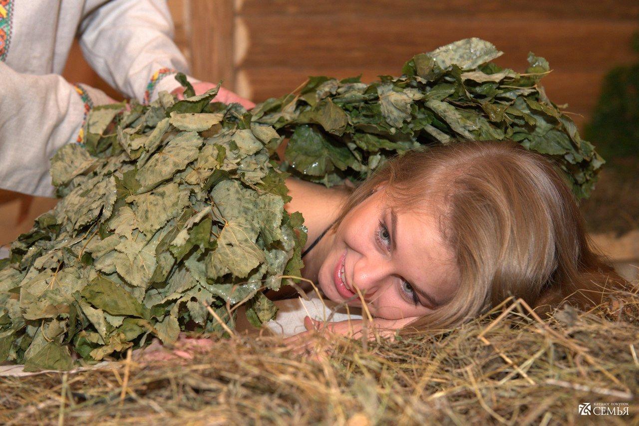 Искусство применения трав для бани