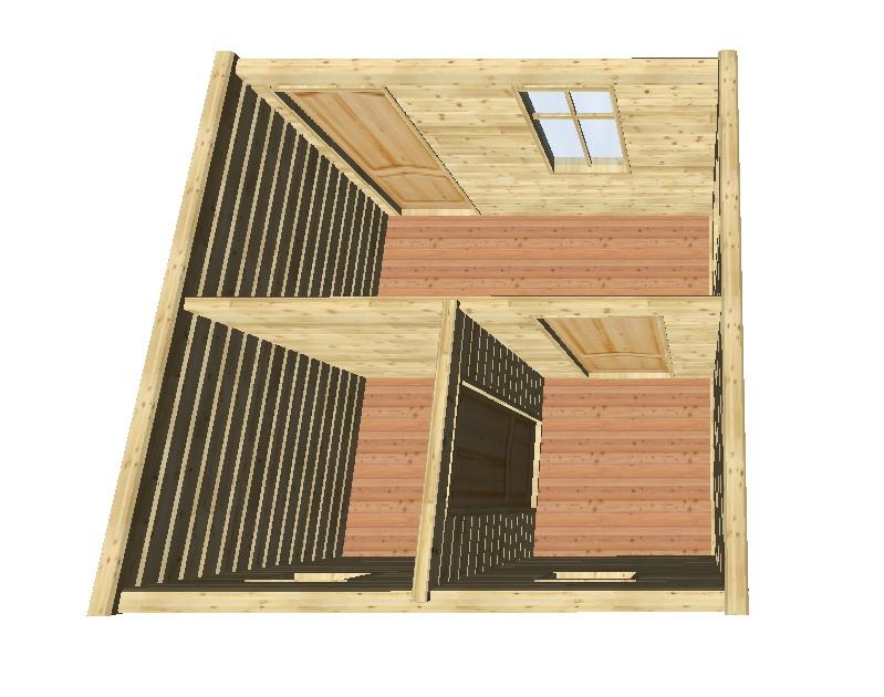 Баня 3 на 3 м: проект и строительство
