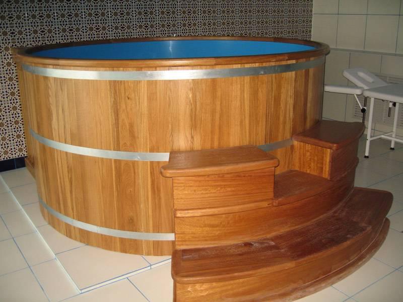 Как сделать деревянную купель для бани своими руками и правильно ухаживать за ней