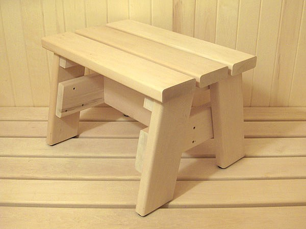 Как сделать скамейку для бани, основные требования к древесине