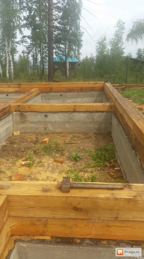 Как построить баню без фундамента