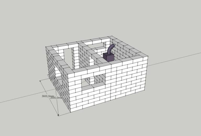 Баня из шлакоблоков: преимущества, особенности. этапы строительства бани из шлакоблоков своими руками   построить баню ру