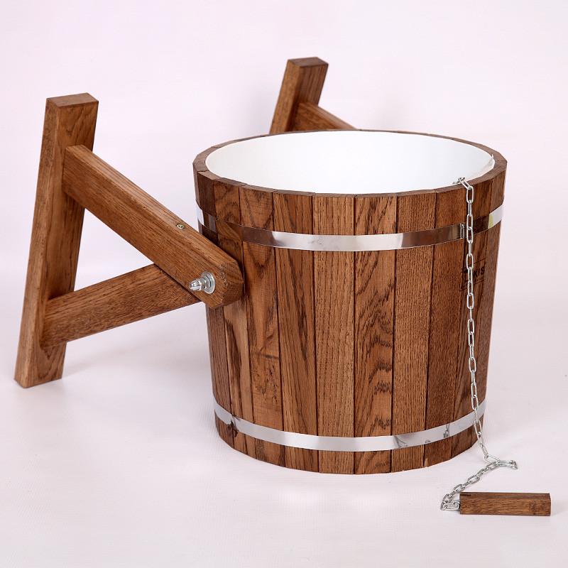 Обливные ведра для бани: выбираем ведро-душ или ведро-перевертиш для обливания в сауне, обзор моделей «ливень» и других вариантов с веревкой