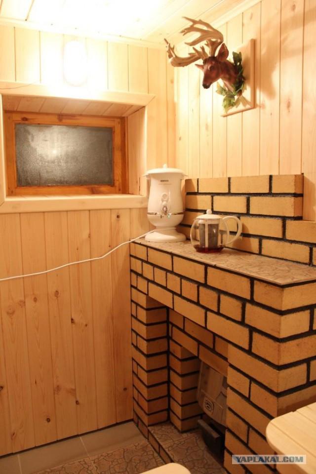 Баня из кирпича своими руками: отделка, обшивка изнутри