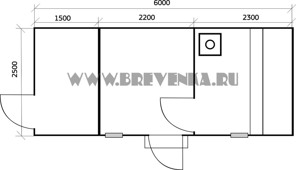 Строительство хозблока с душем и туалетом: проекты и материалы