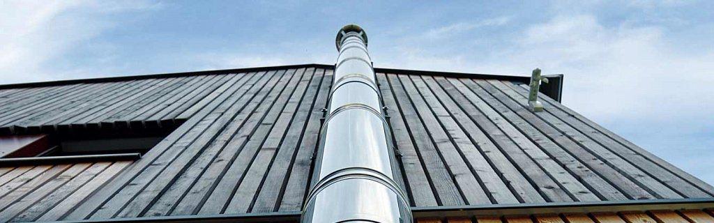 Монтаж дымохода из нержавеющей стали: инструкция