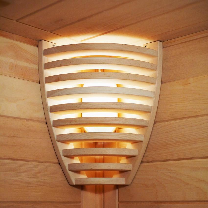 Абажур для бани, для сауны, как сделать своими руками, особенности деревянных и из гималайской соли, плюсы-минусы, подробности