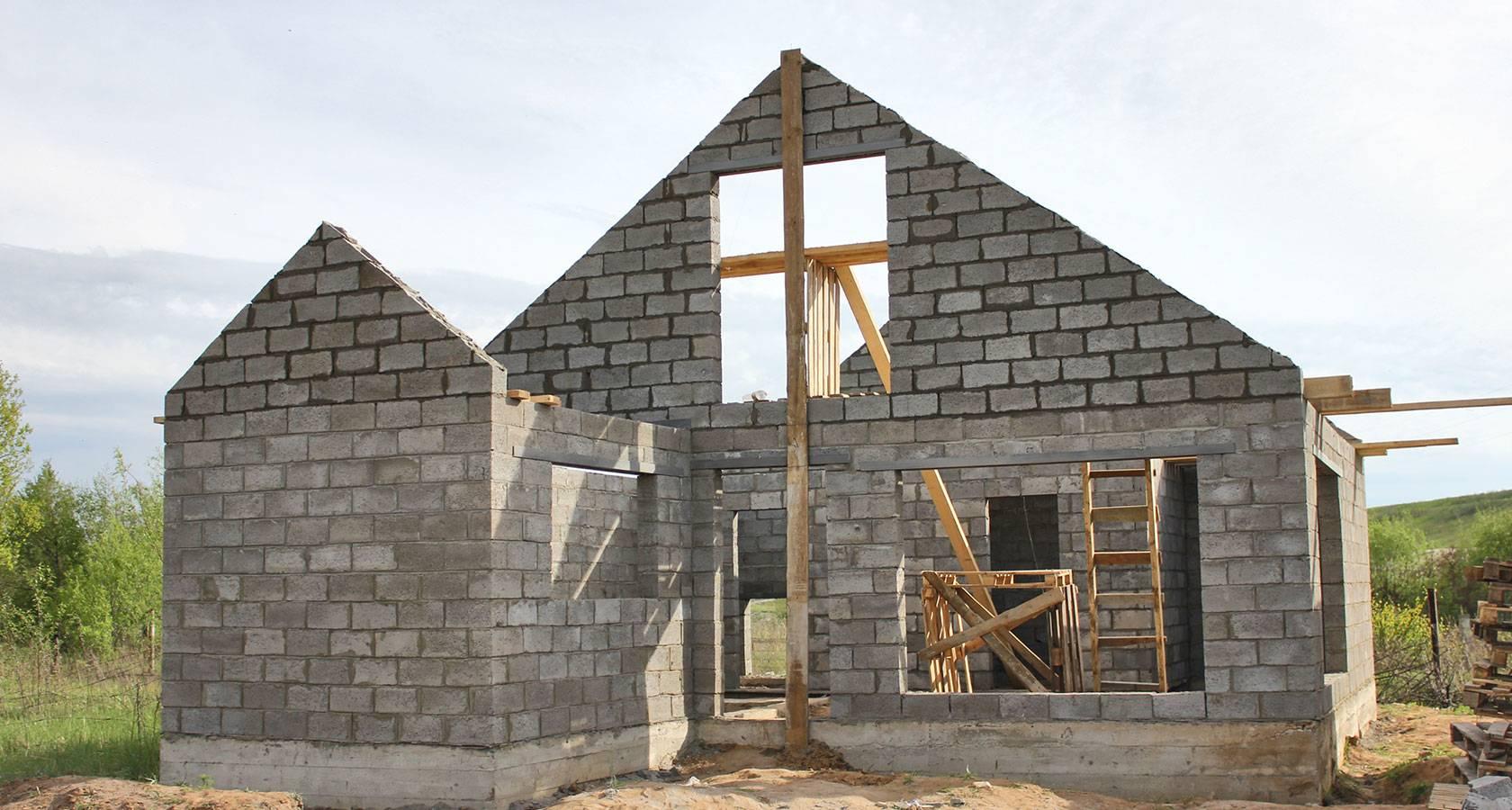 Баня из керамзитобетонных блоков: этапы строительства своими руками, особенности использования материала