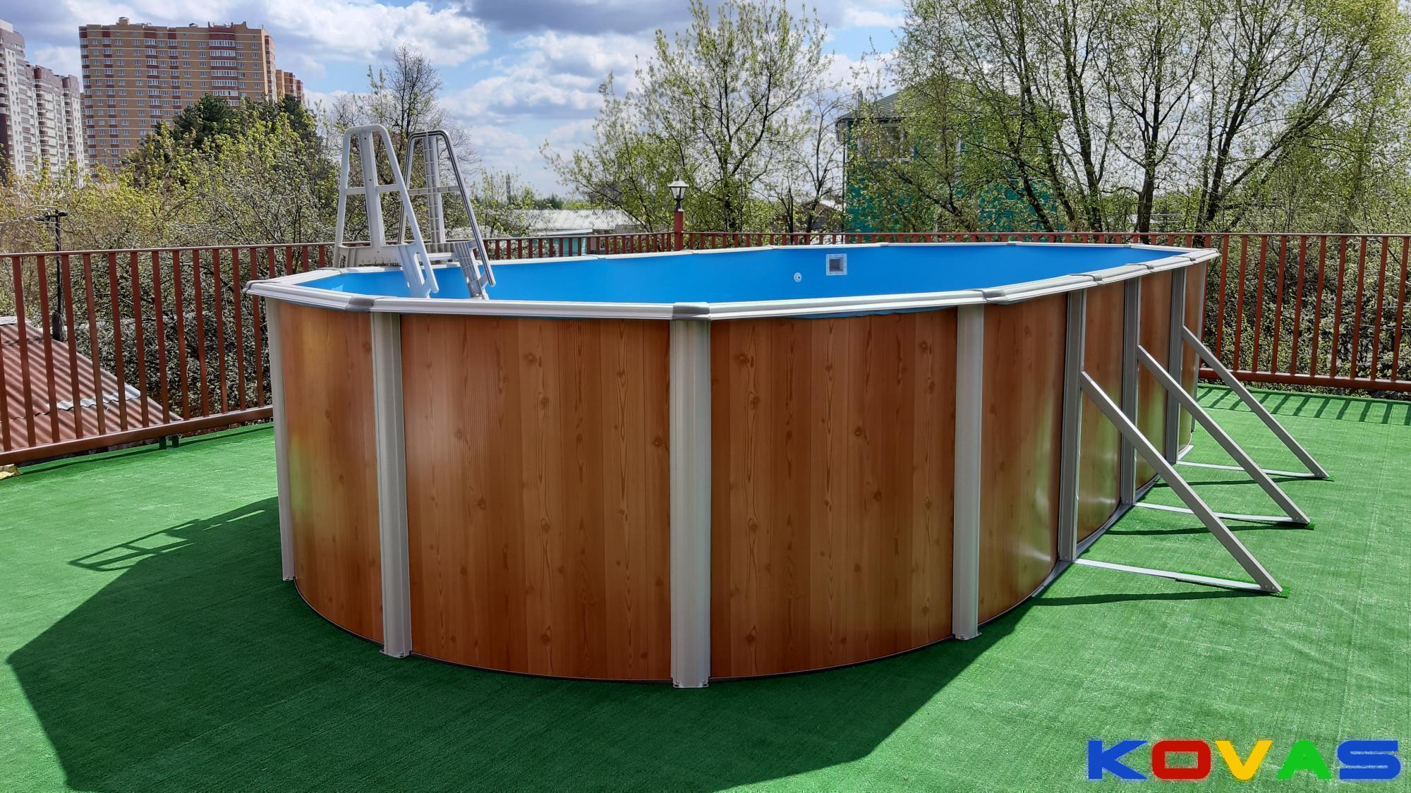 Размеры каркасного бассейна: какие бывают у круглых, прямоугольных, самая большая модель, как выбрать оптимальный вариант