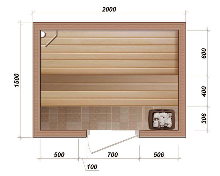 Оптимальные размеры бани: какая должна быть парилка с комнатой отдыха при парной, стандартные и минимальные размеры