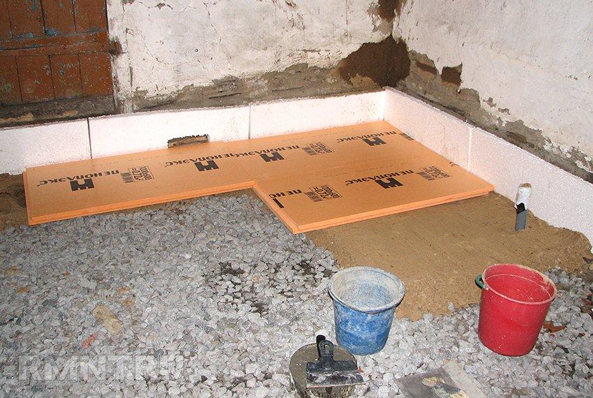 Как сделать теплый пол в бане: подробная инструкция с монтажными схемами