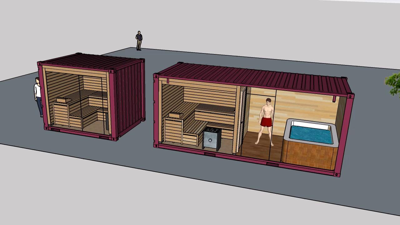 Баня из контейнера своими руками: плюсы и минусы, особенности сооружения
