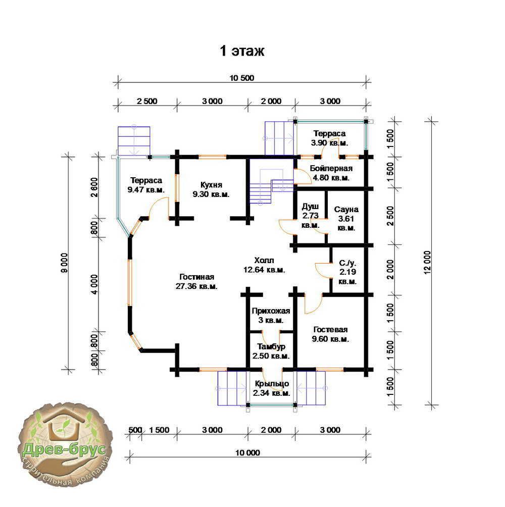 Проекты дома с баней под одной крышей: особенности и нюансы | построить баню ру
