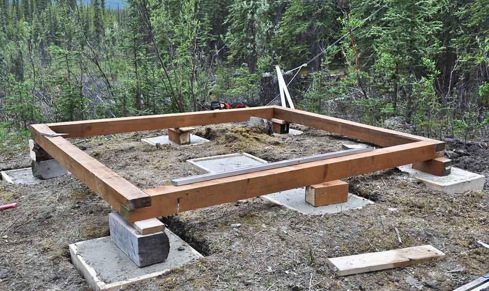 Как сделать фундамент для бани столбчатый – разновидности вариантов строительства