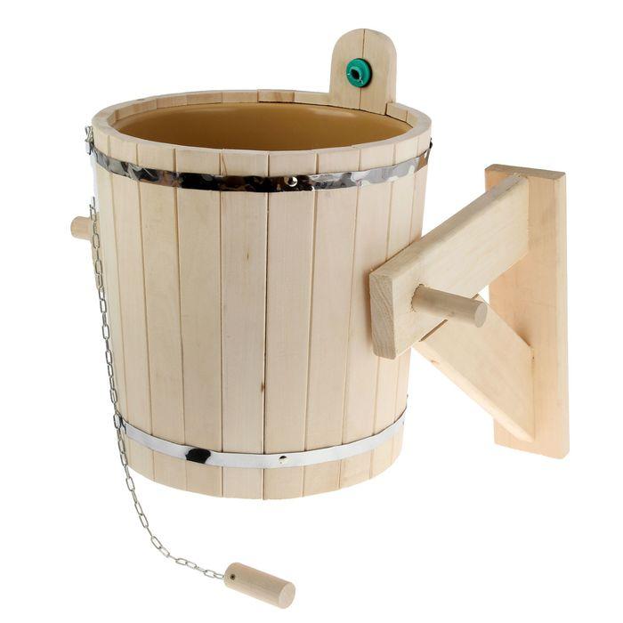 Как сделать обливное устройство для бани своими руками