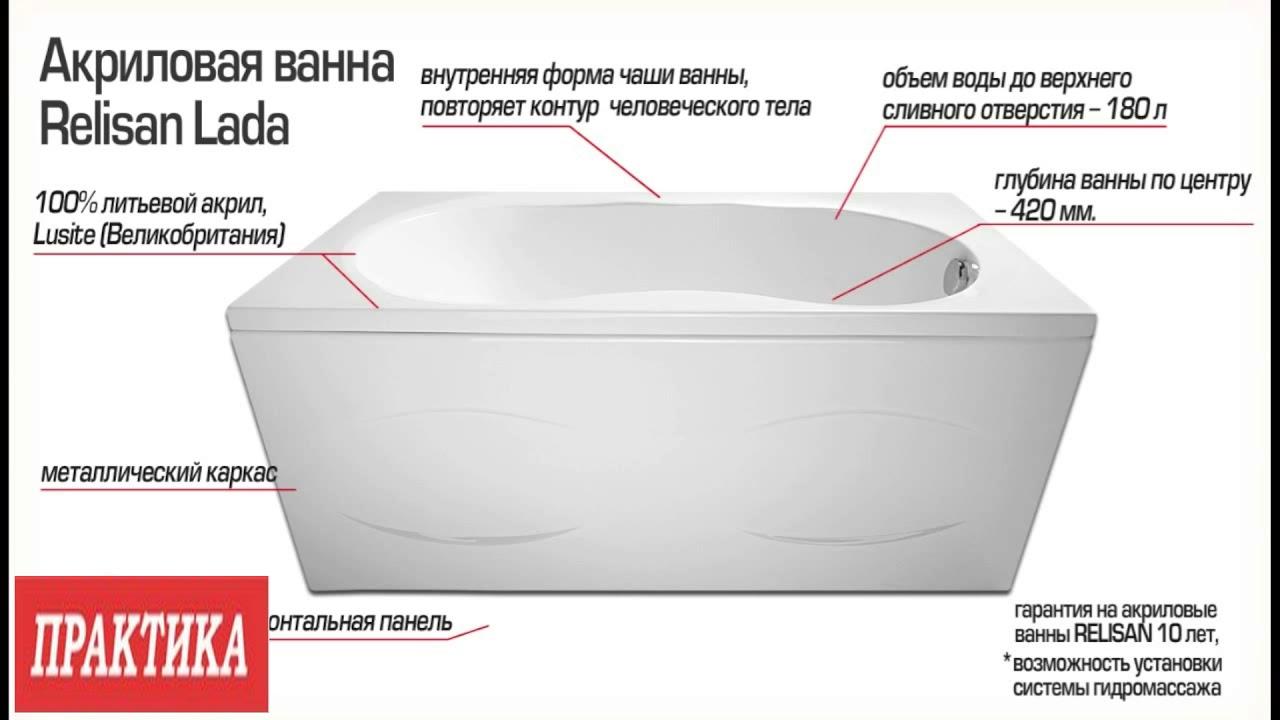 Как выбрать акриловую ванну + рейтинг лучших производителей