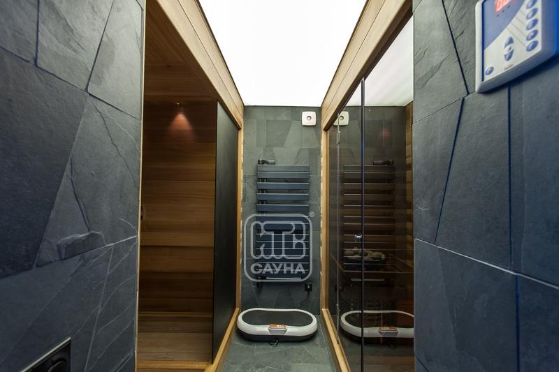 Сауна (баня) с бассейном в подвале дома, коттеджа. специфика строительства и эксплуатации на сайте недвио