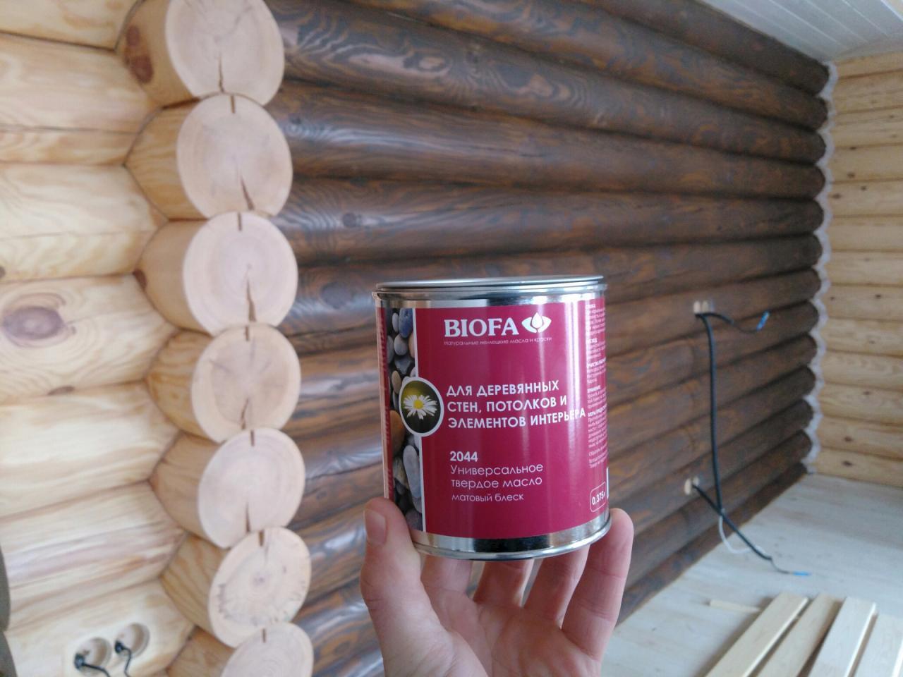 Пропитка для дерева для бани внутри