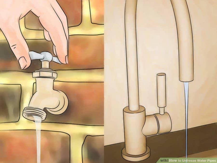 Способы отогреть замерзший трубопровод