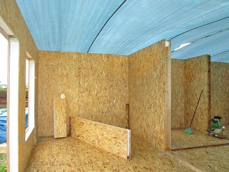 Внешняя отделка дома из сип-панелей: варианты