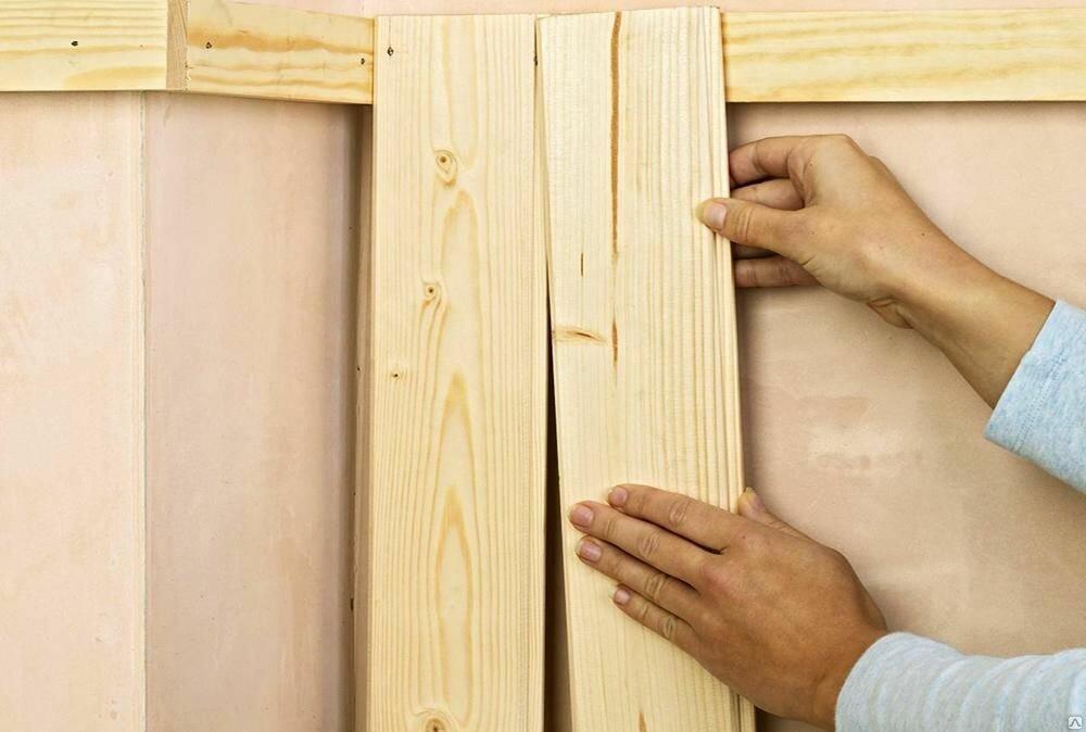 Как крепить вагонку на стену