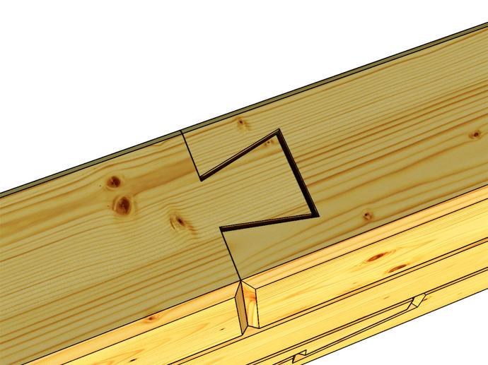 Соединение бруса различными способами при сборке сруба
