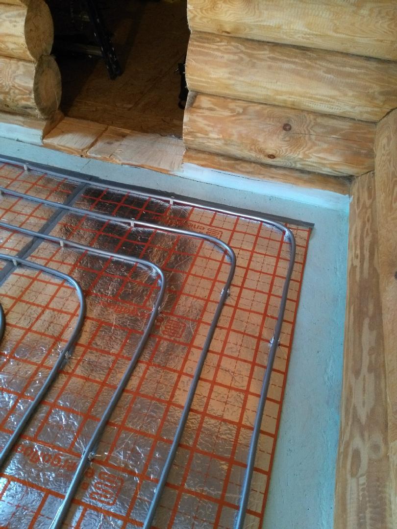 Теплый пол в бане, электрический, водяной - достоинства и недостатки