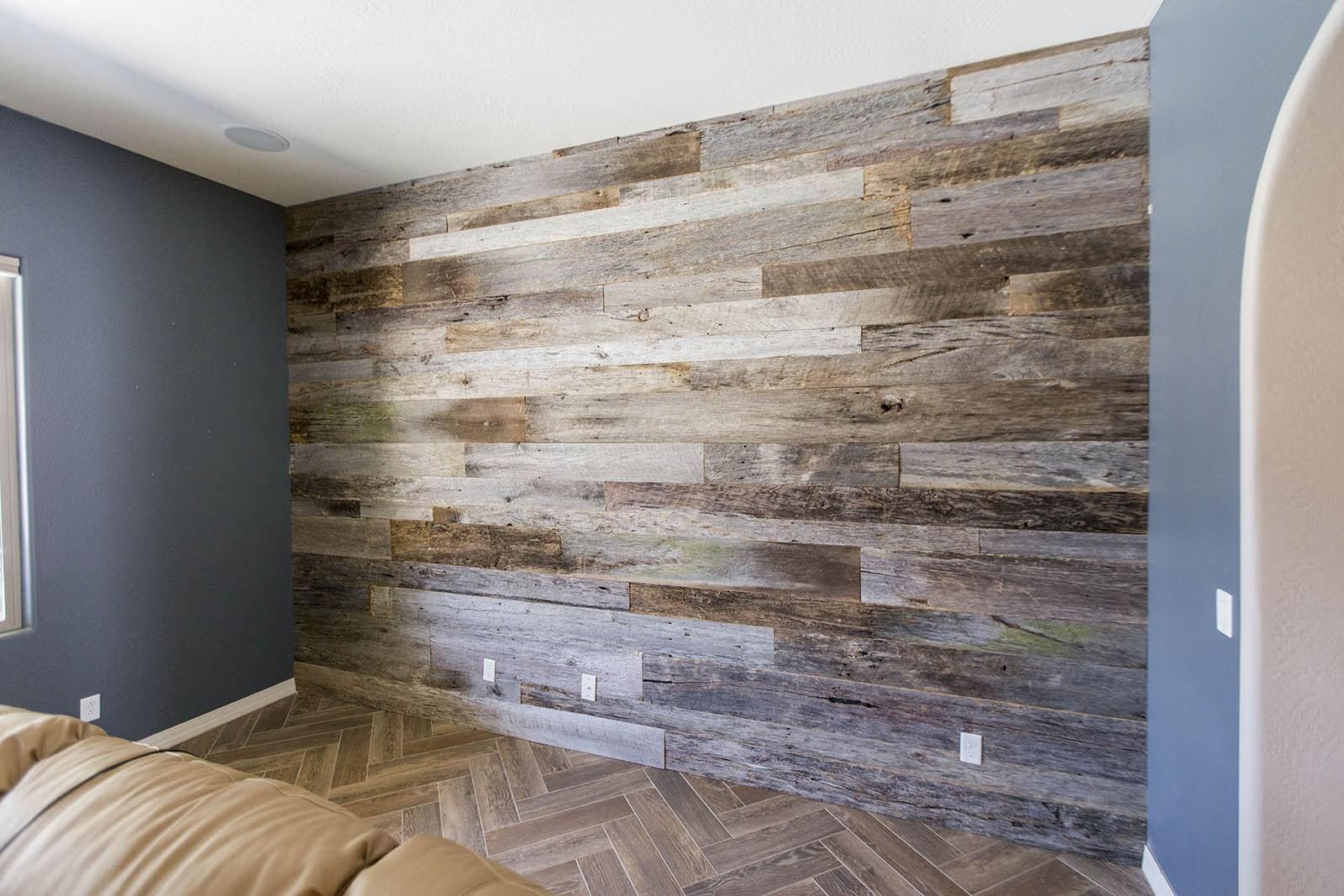 Ламинат на стене в интерьере: выбираем лучший дизайн (80 фото)