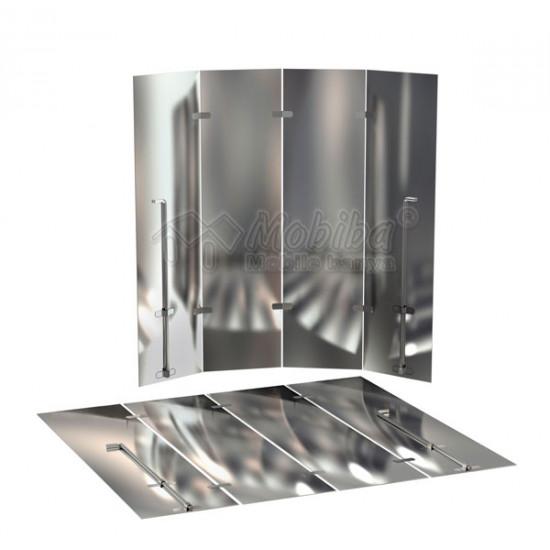 Защитный экран для печи в бане: как и из какого материала его сделать