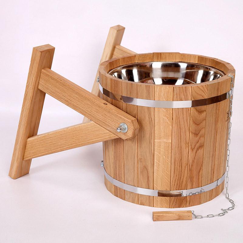 Обливные ведра для бани: устройства для обливания «колобок» и деревянные ведра «ливень мини», другие модели, их установка