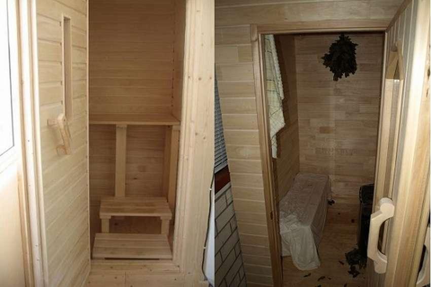 Сауна в квартире в ванной комнате или на балконе своими руками: шаг за шагом, фото + видео