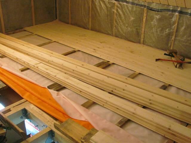 Межэтажное перекрытие по деревянным балкам утепление и звукоизоляция