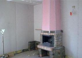 Гкло: огнестойкий и огнеупорный гипсокартон, характеристики негорючих гкл, степени огнестойкости гипсокартонных листов