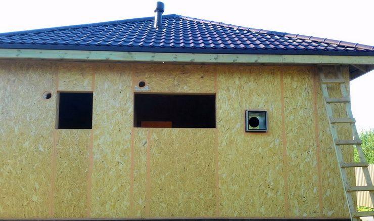Дачная баня из sip панелей | дом идей