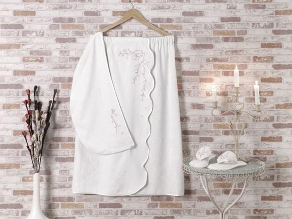 Как сшить для бани полотенце на резинке