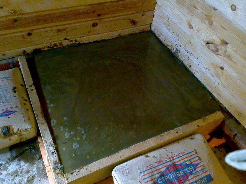 Фундамент под печь в бане: подготовка и возведение