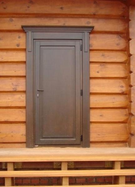 Описание и изготовление банных дверей