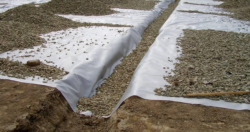 Геотекстиль — что это такое и как используется в строительстве