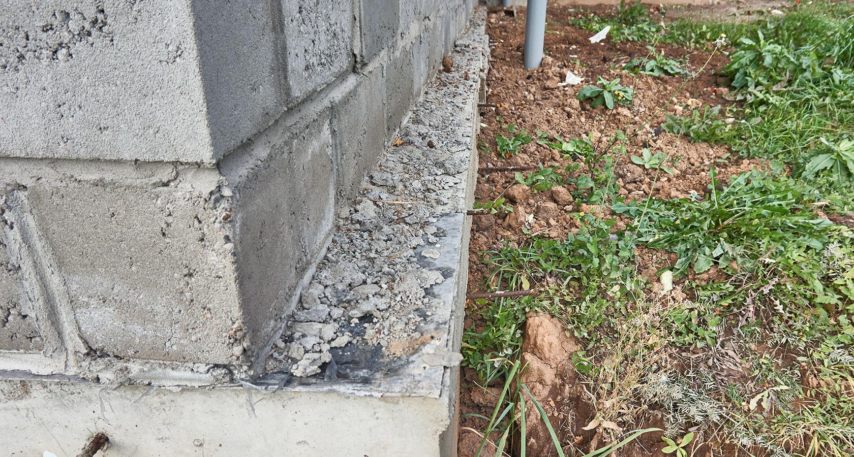 Как рассчитать и залить фундамент для дома из керамзитобетонных блоков